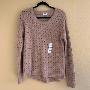 OLD NAVY NWT Open Knit Sweater